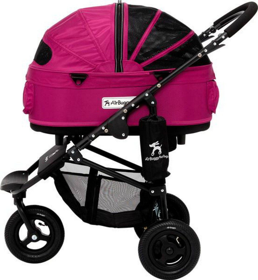 AirBuggy for Dog - Dome2 Brake Medium - Cranberry (NO INTERNATIONAL SHIPPING) by AirBuggy for Dog