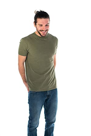 9d5a47cdfc6b Amazon.com: ONNO Men's Hemp T-Shirt: Clothing