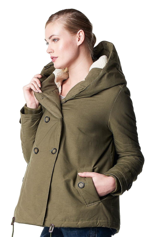 Noppies Winter Jacket - Uma - Hooded Maternity Jacket - Winter Maternity Fashion - Jacket/Coat