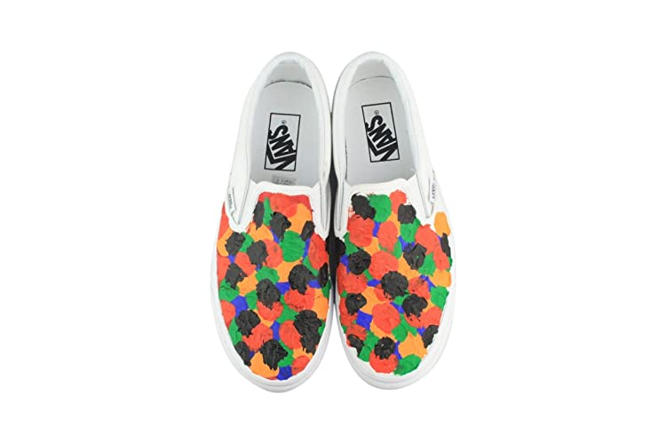 fed7f3daa7c9 Amazon.com  Hand Painted Damien Hirst Inspired Shoes  Handmade