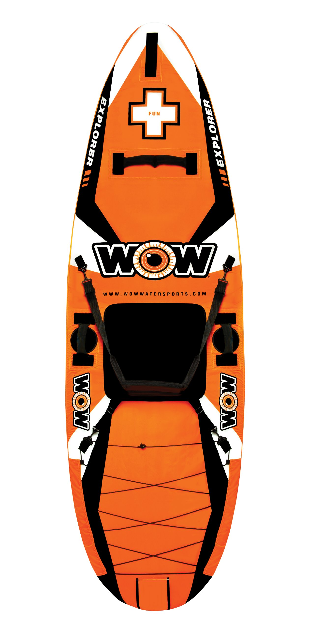 Wow Explorer Kayak (9x2.4-Feet) by WOW Sports