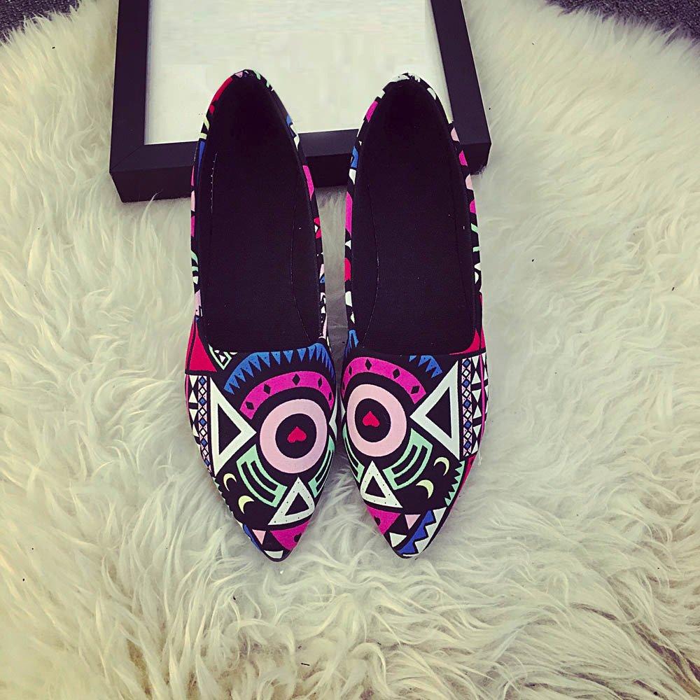 Women Loafers ? Vanvler Lady Slip On Flat Shoes Ballet Doug Shoes All Seasons by Vanvler ❤ Women Shoes (Image #6)