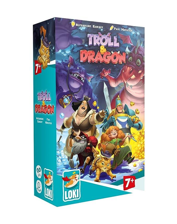 Lúdilo Troll and Dragon, Multicolor (51475): Amazon.es ...