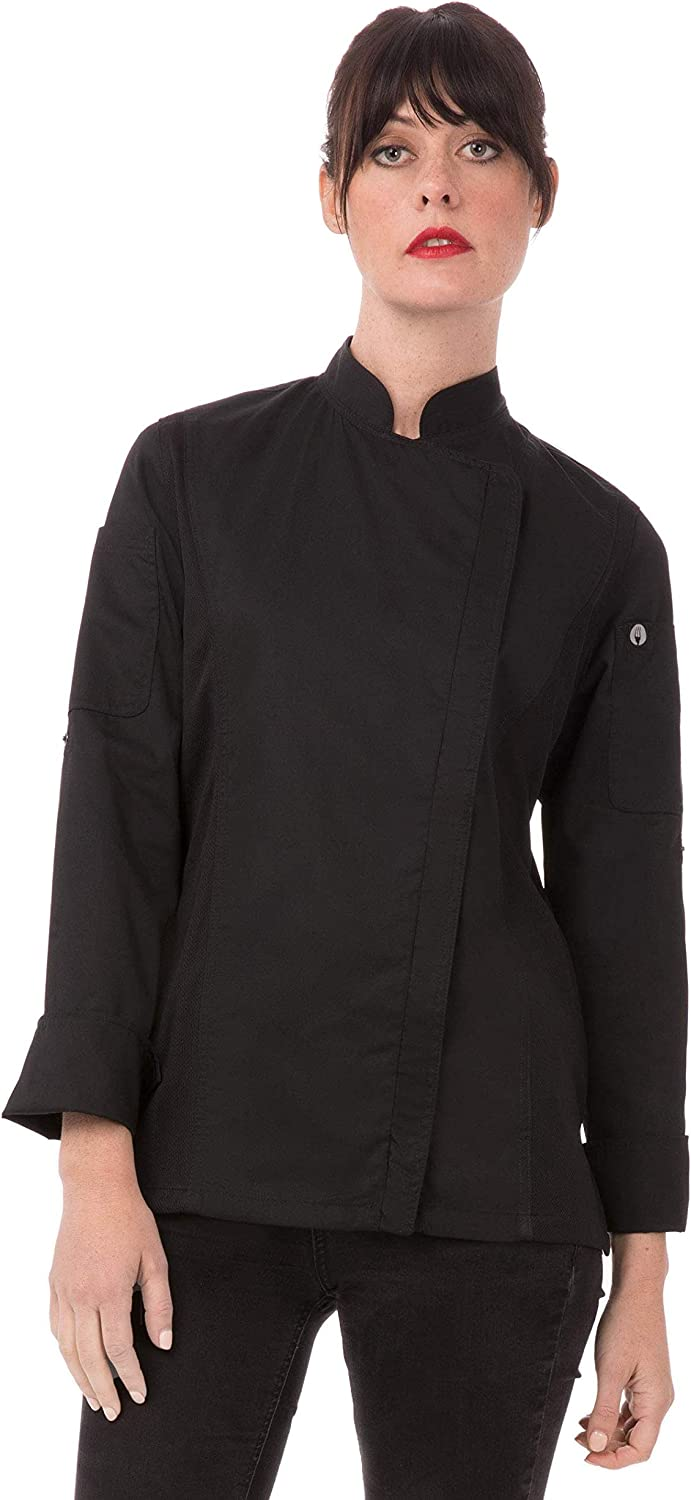 Chef Works Women's Hartford Chef Coat: Clothing