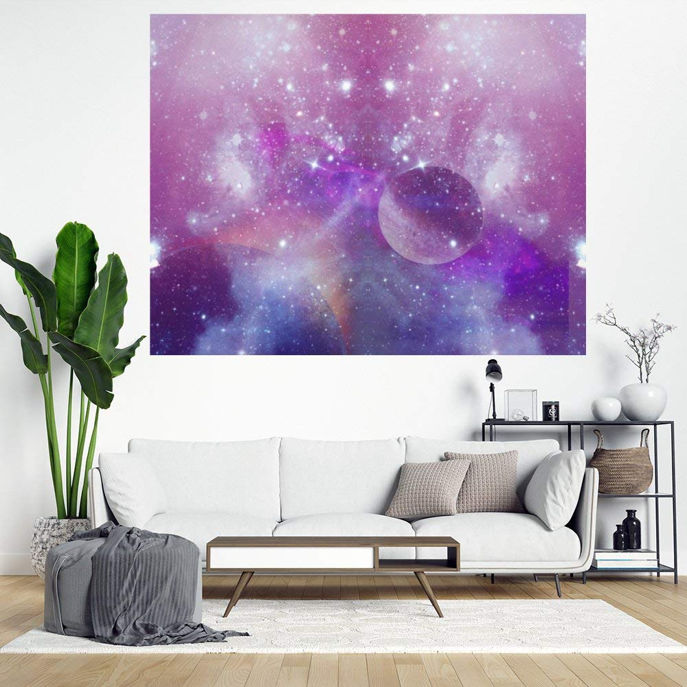 Stickers for Window and Wall Decor, Violet Ash Star Festival Decal Stickers for Thanks Giving, Halloween and Christmas