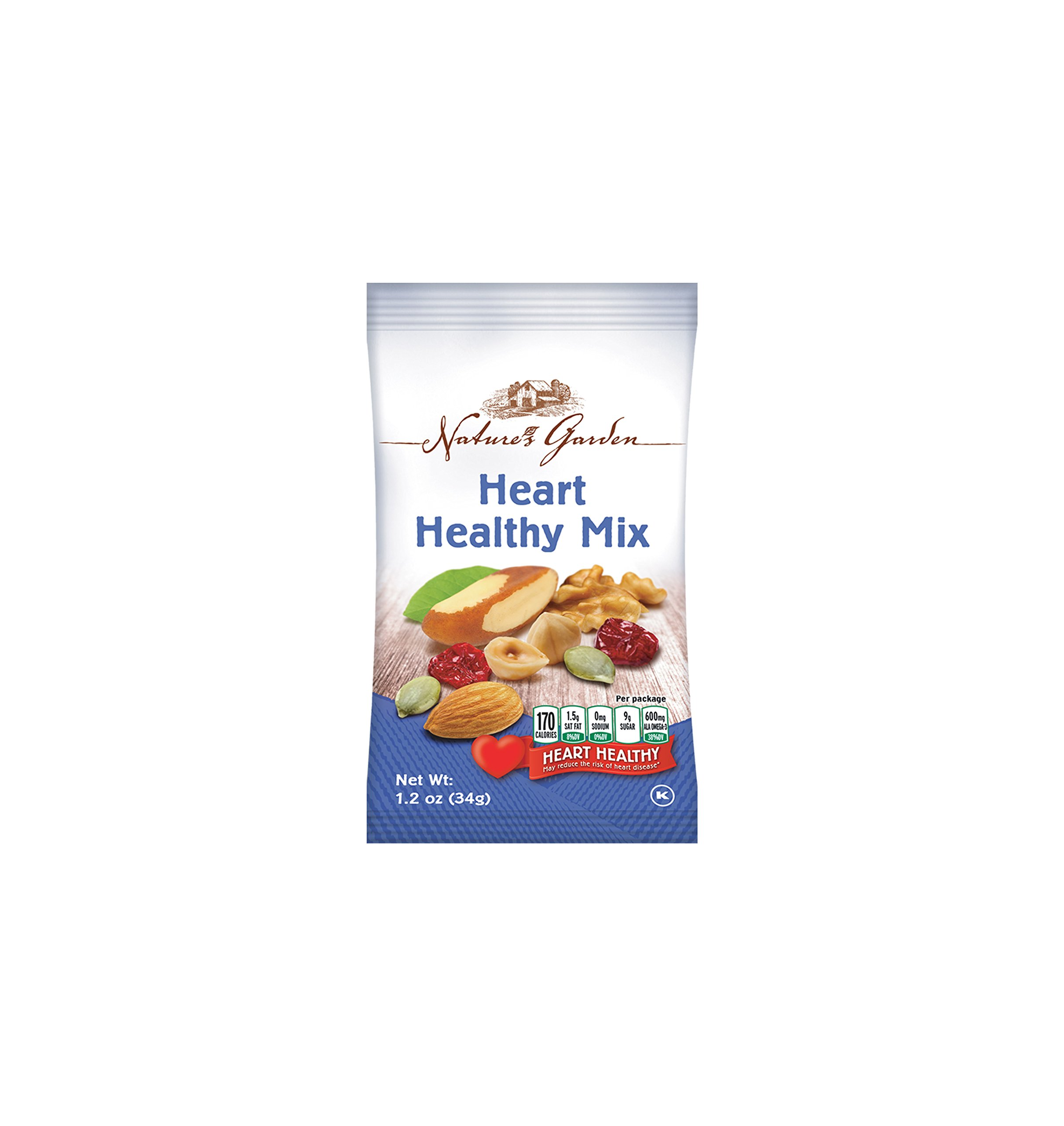 Healthy Premium Assorted Nuts and Fruits Snack Mix Sampler Variety Pack, Good for the Heart by Variety Fun (Care Package 24 Count) by Custom Varietea (Image #4)