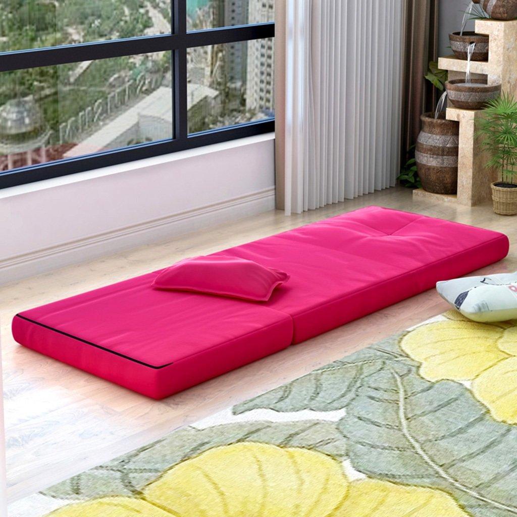IAIZI Colchones Plegables reclinables Plegables para el Almuerzo Cama de la Siesta Cama Individual Cama Simple Invisible Cama sofá Cama (Color : C): ...