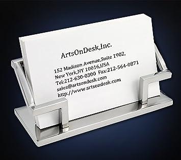 Amazon Artsondesk Modern Art Business Card Holder Mr101