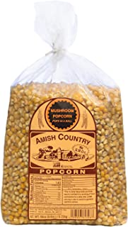 product image for Amish Country Popcorn | 6 lb Bag | Mushroom Popcorn Kernels | Old Fashioned with Recipe Guide (Mushroom - 6 lb Bag)