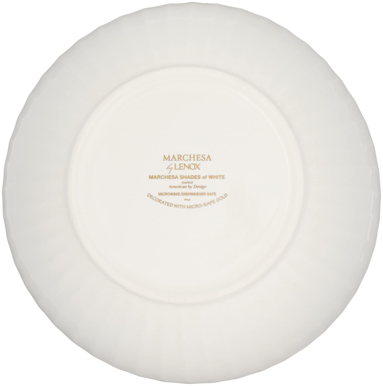 abe41b537c Amazon.com: Marchesa Shades of White Individual Pasta Bowl by Lenox:  Kitchen & Dining