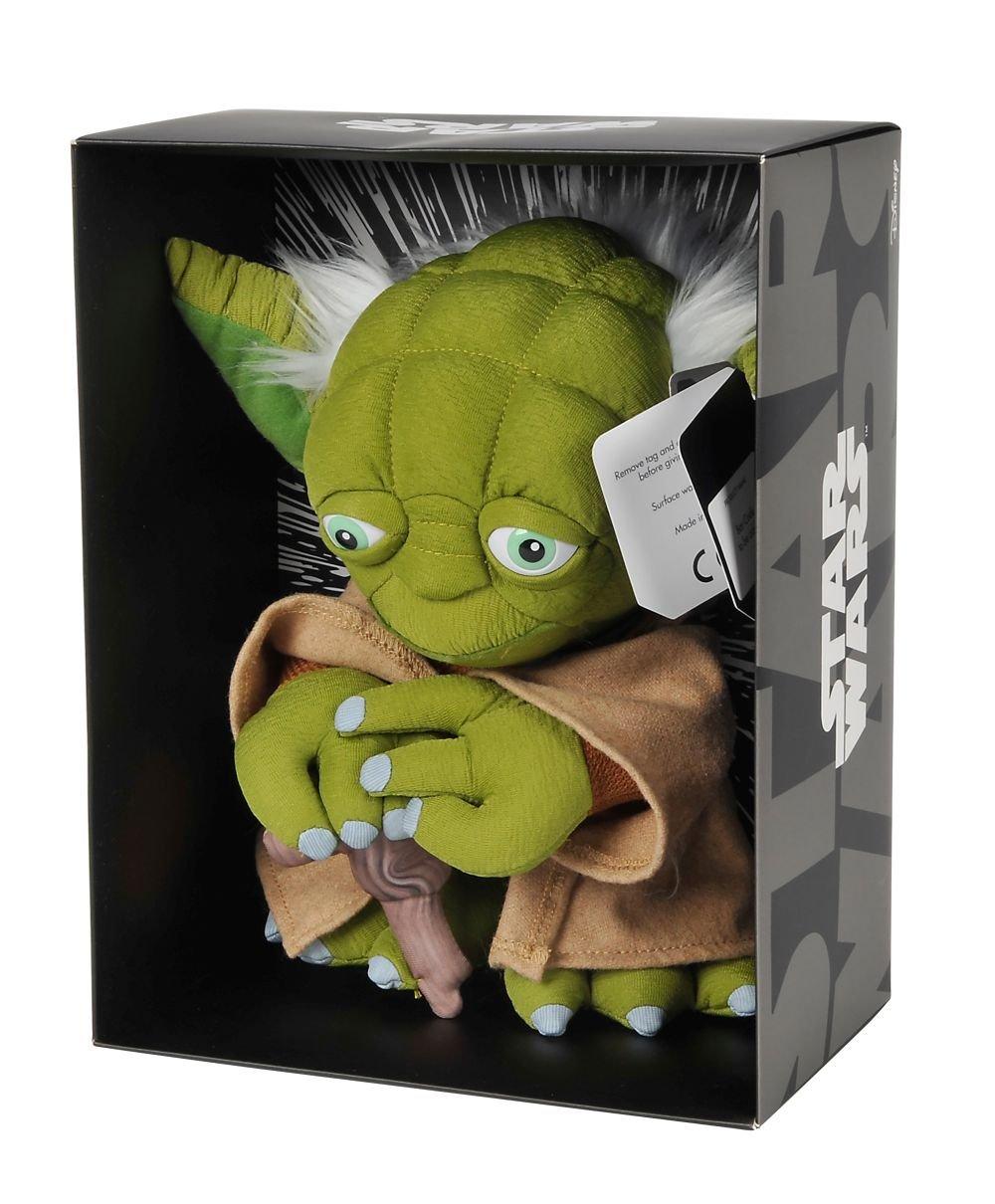Disney Star Wars Yoda de peluche 25 cm, 5874943: Amazon.es: Juguetes y juegos