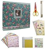 IDULL 8x8 Scrapbook Kits for Girls