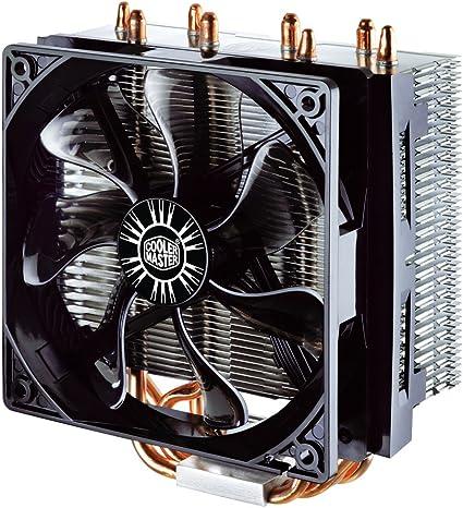 Cooler Master Hyper T4 Ventilateurs de processeur '4 Heatpipes, 1x ventilateur 120mm PWM, 4 Pin Connector' RR T4 18PK R1