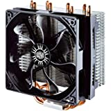 Cooler Master Hyper T4 CPU Cooler with 4 Direct Contact Heatpipes RR-T4-18PK-R1, Intel/AMD with AM4 Support