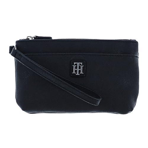 Amazon.com: tommy hilfiger para mujer dos bolsillo Wristlet ...