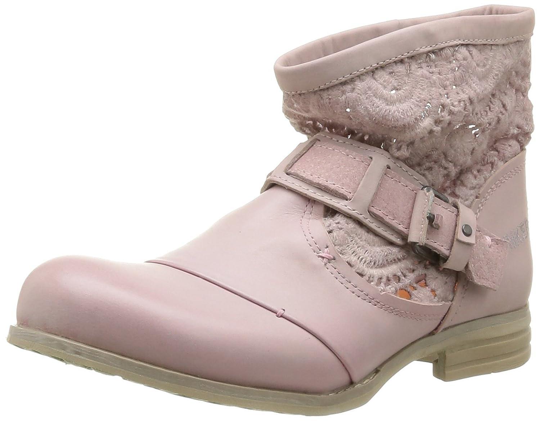 Bunker Zipy, Botines Femmes, Rose (Pink), 38 EU