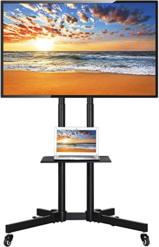 go2buy Mobile TV Cart Mount Stand