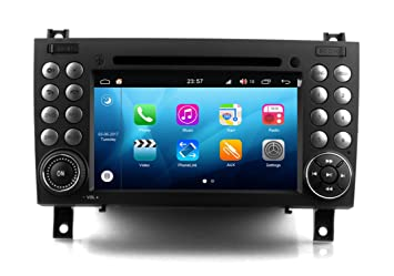 RoverOne Android 8.0 Octa Core In Dash Car DVD GPS Navigation System for Mercedes-Benz