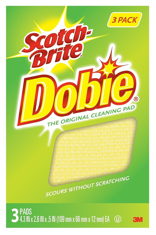 Scotch-Brite Dobie All-purpose Pads, 3-Pads/Pk, 8-Packs (24 Pads Total) 7232F