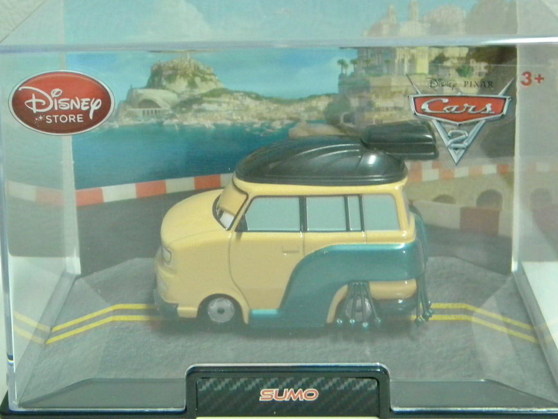 Authentic Disney Store Movie Exclusive Pixar Cars 148 Die Cast Car Vehicle in Plastic Display Case Sarge