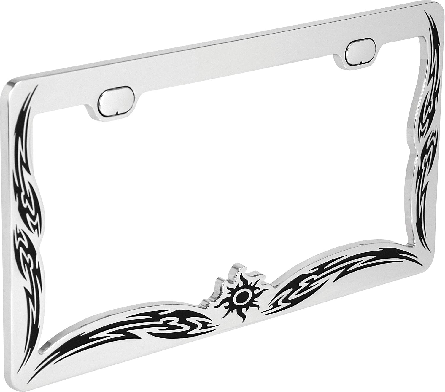 Bell Automotive 22-1-46163-8 Universal Tribal Design License Plate Frame