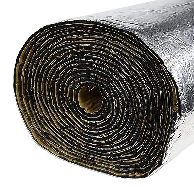 SHINEHOME 236mil 16.68sqft Car Sound Deadener Heat Insulation Mat Noise Proof Mat Heat Protector Mat Audio Noise Insulation Material Car Sound Dampening Deadening Material 61 x 40 Inches: Automotive [5Bkhe0909169]