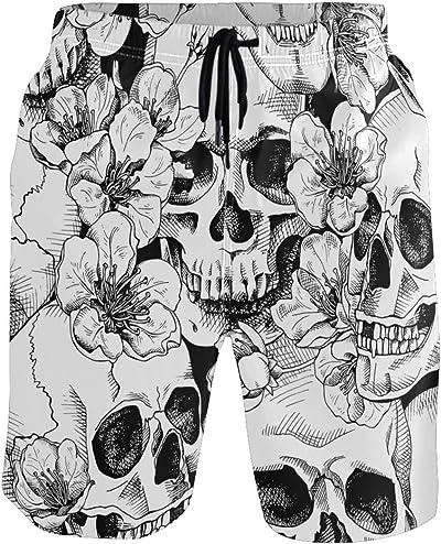 maillot de bain tête de mort homme 1