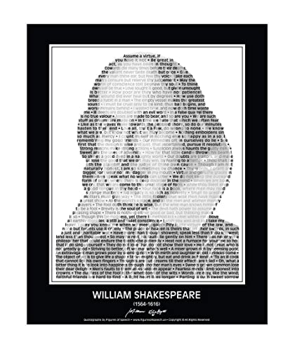 Shakespeare Love Music Quote Poster Posters Print Prints Art Gift Gifts