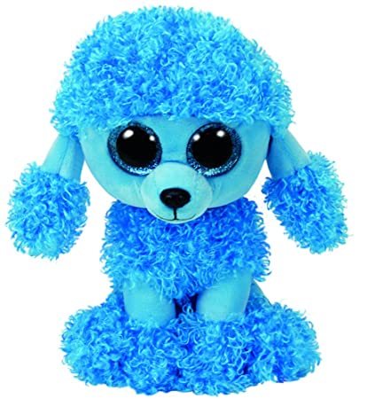 Amazon.com  Ty Beanie Babies Boos 36851 Mandy The Blue Poodle Boo  Toys    Games 2587fe65d135