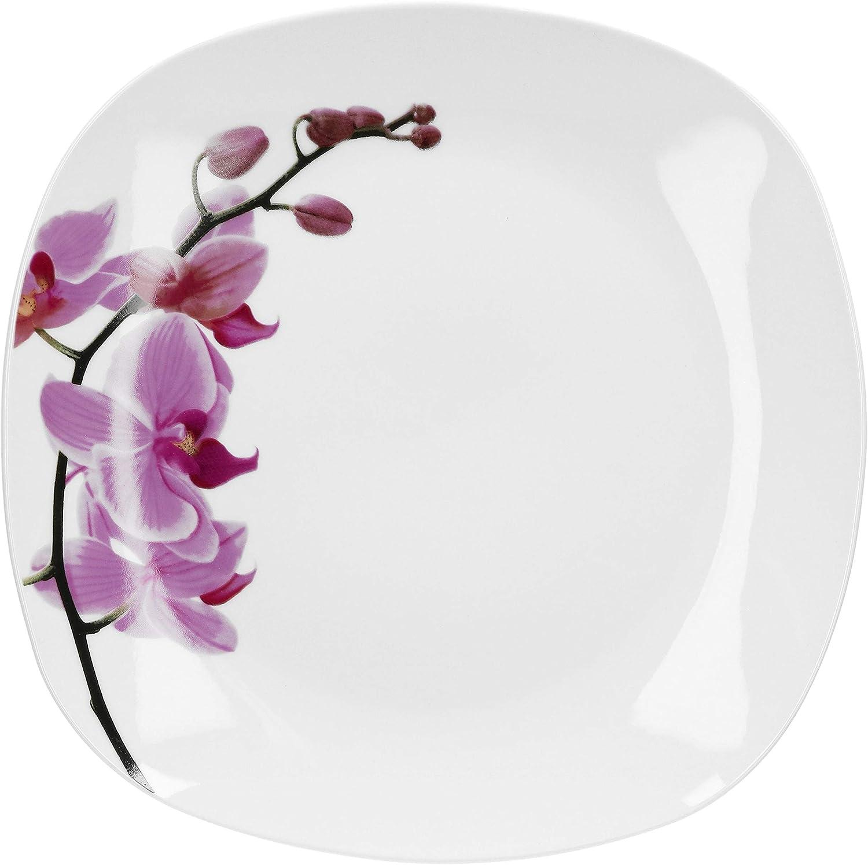 Van Well Butterdose Kyoto Aufbewahrungsbox rechteckig Orchidee Gastro Porzellan