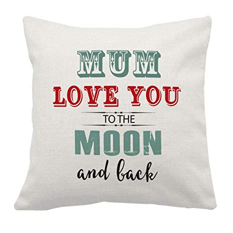 Artylicious Mum, Love You to The Moon and Back â Cojín de ...