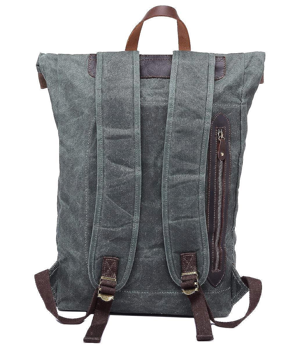 RAPIDLY Rucksack Durable Canvas Daypack Unisex Unisex Unisex Rucksack Wasserabweiser Laptop-Tasche B07GVGQ3JM Daypacks Zu verkaufen 6c21ed