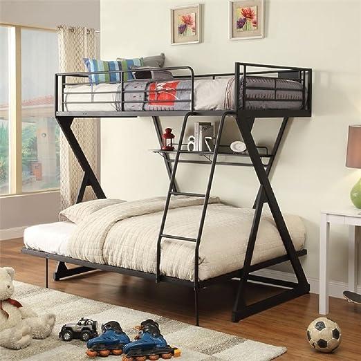 Major-Q - Escalera de cama con tubo de metal, para litera: Amazon.es: Hogar