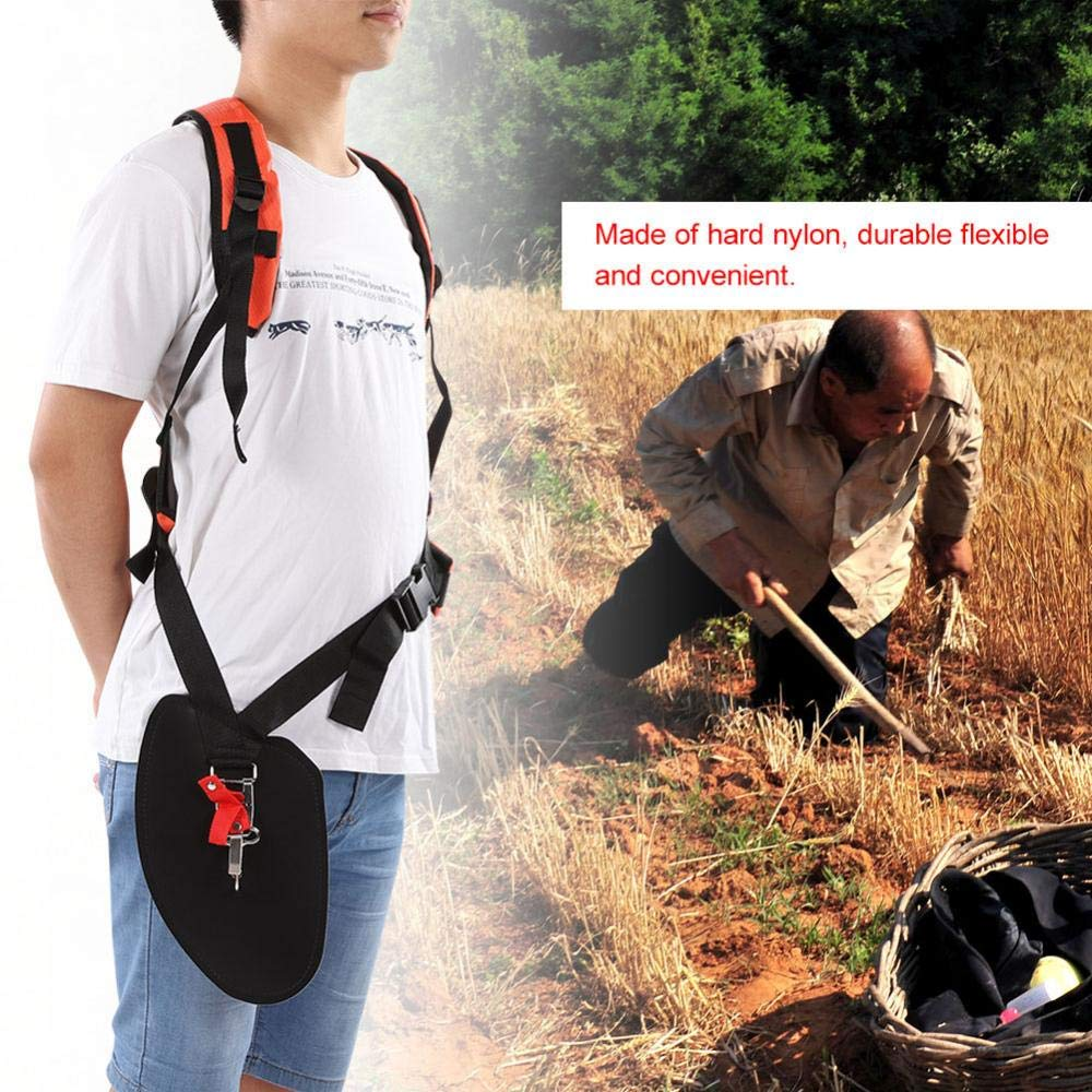 Pole Saws Garden Tools Universal Trimmer Double Shoulder Strap Mower Nylon Y-shaped Belt For Brush Cutter Garden Tool