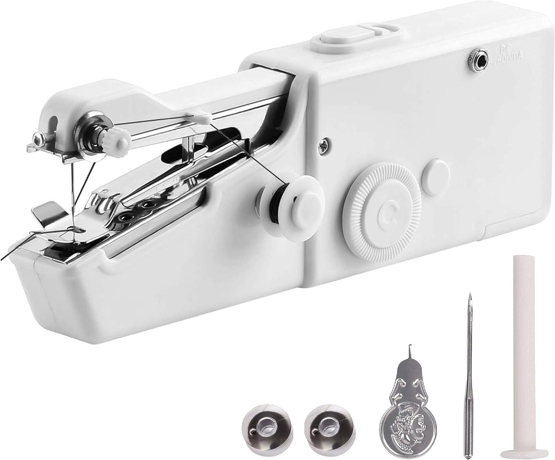 Máquina de coser de mano | blanco y negro | Free 24/7 Aftersale 1 ...