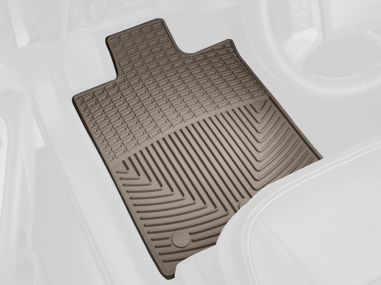W297TN Tan Front WeatherTech Floor Mat Rubber