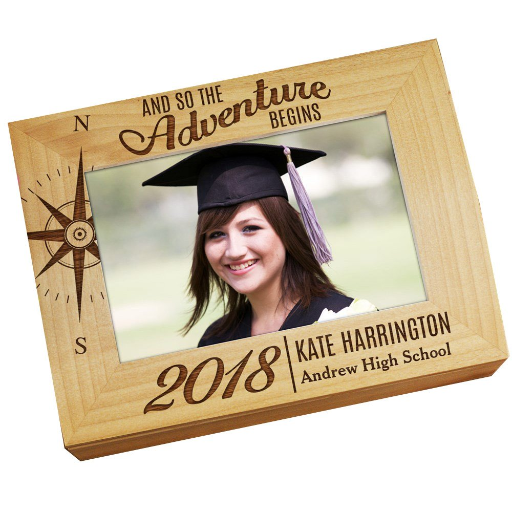 GiftsForYouNow Adventure Begins Personalized Photo Keepsake Box