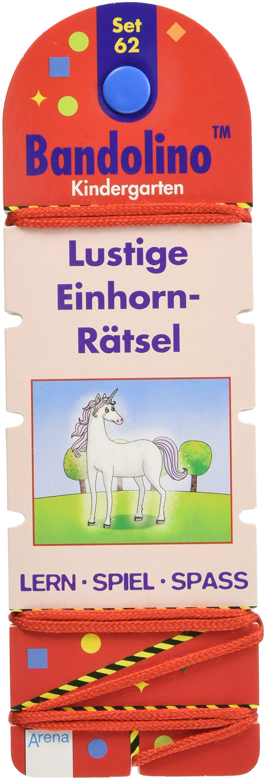 Lustige Einhorn-Rätsel: Bandolino Set 62