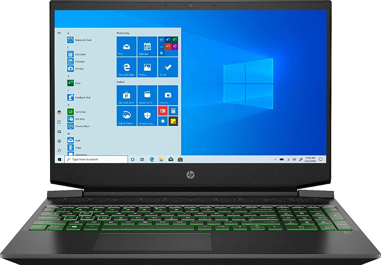 "HP Gaming 15-EC0013DX - 15.6"" FHD - AMD Ryzen 5 3550H - NVIDIA GTX 1050-8GB - 256GB SSD"