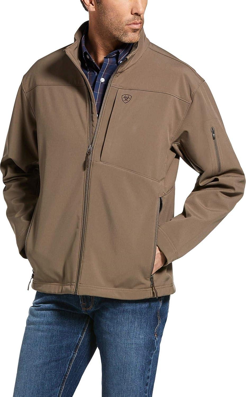 ARIAT Mens Logo 2.0 Softshell Jacket