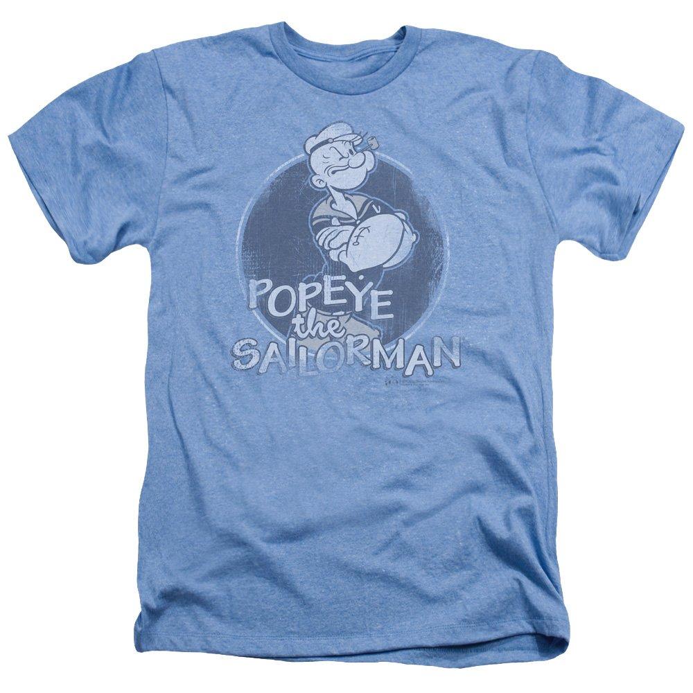 Popeye The Sailor Man Cartoon Original Sailorman Adult Heather T Shirt Tee