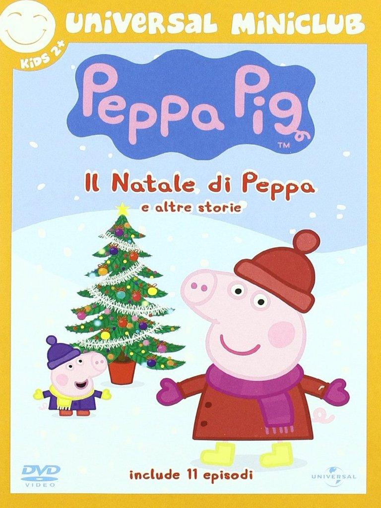 Peppa Pig Il Compleanno Di Natale.Amazon It Peppa Pig Il Natale Di Peppa Acquista In Dvd E Blu Ray