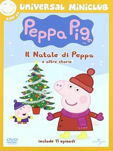 Peppa Pig Natale.Amazon Com Peppa Pig Il Natale Di Peppa E Altre Storie Import Italien Animazione Movies Tv