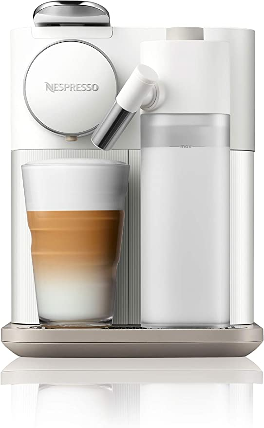 Nespresso by DeLonghi EN650W Gran Lattissima Original Espresso Machine with Milk Frotherby DeLonghi, Fresh White