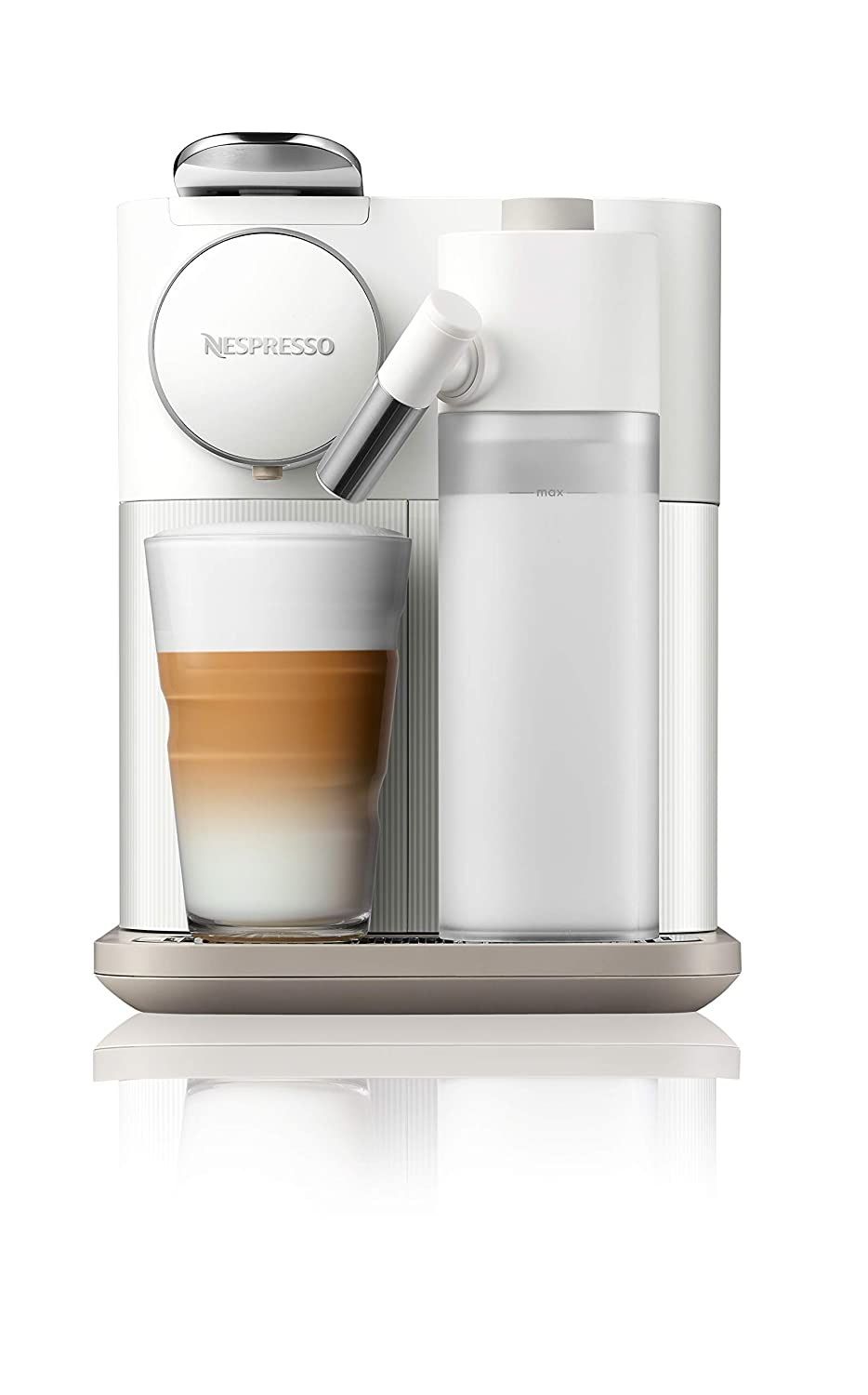 Nespresso EN650W Gran Lattissima Original Espresso Machine with Milk Frotherby De'Longhi, Fresh White