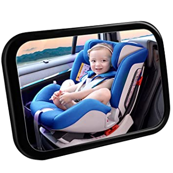 Baby Car Mirror YEENOR For Acrylic Shatterproof Rearview Seat