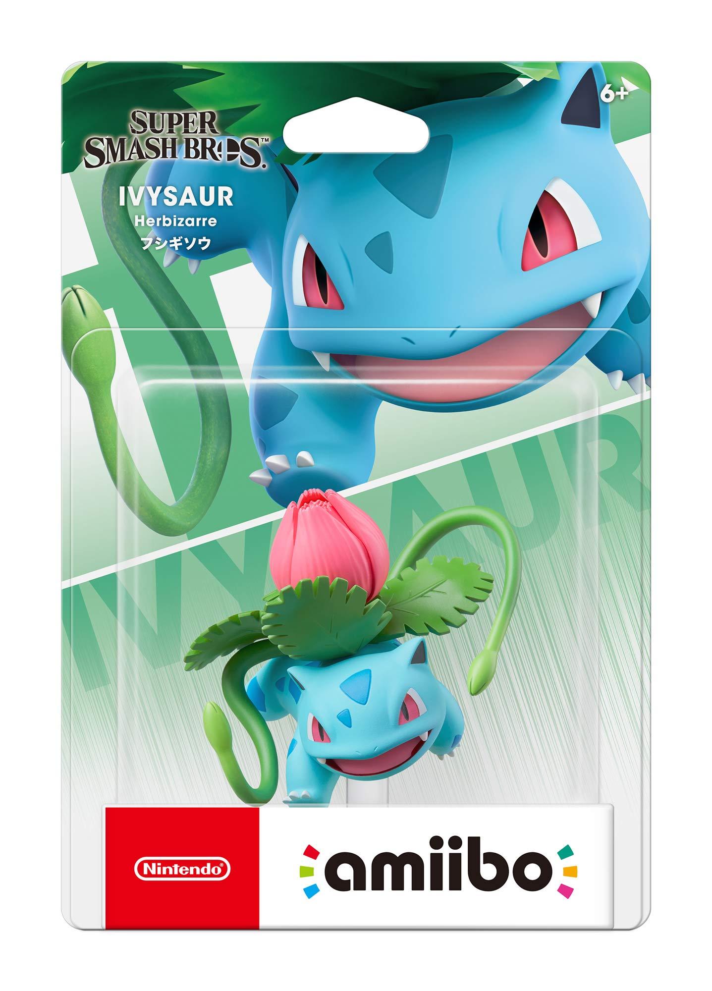 Nintendo Amiibo - Ivysaur - Super Smash Bros. Series - Switch