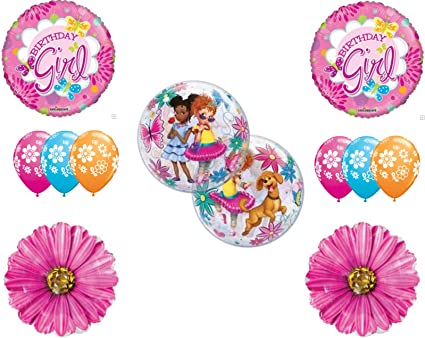 Fancy Nancy Birthday Party Balloons Decoration Supplies Clancy Daisys
