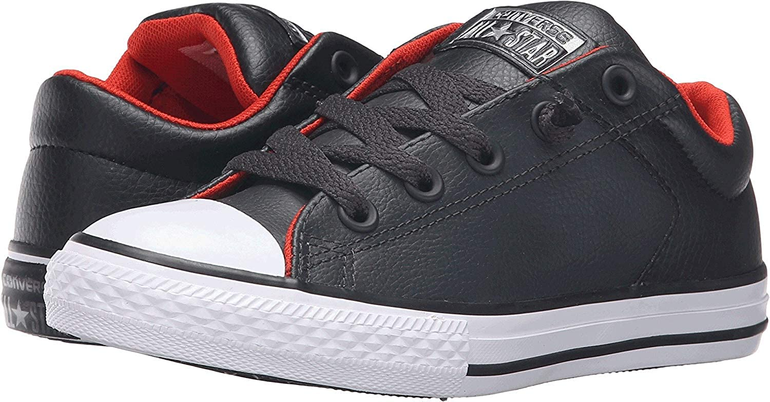 Converse Kids Mens Chuck Taylor All Star High Street Leather (Little Kid/Big Kid) 00-945VWYYF-TW