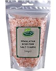 Himalayan Rose Pink Salt Coarse 500g - Free UK Delivery